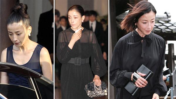 希林さん告別式でも注目 宮沢りえの喪服をマナー講師はどう見た→一番大事なのは気持ちです