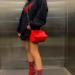 浜崎あゆみ、パーカーからのぞく美脚ファッションに反響→女装してるオッサンか思ったわ。